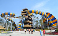 12m Tall Exciting Custom Water Slides Surf Water Amusement Park Equipment
