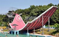 Spray Park Equipment Water Pool Slides Surf n Slide Water Park , Anti UV and Safety